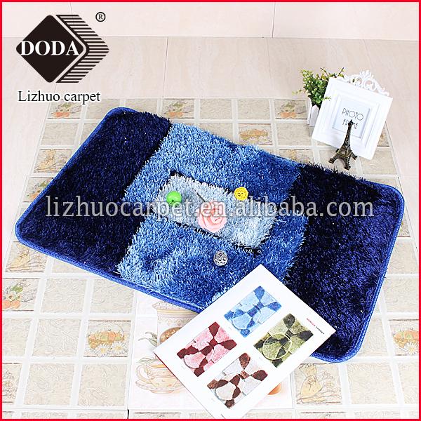Goede Tegelverf Badkamer ~ Luxe pluche zacht hoogpolig shaggy tapijt decoratie badkamer bad