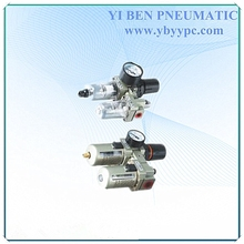 AC Filter Regulator lubricator alloy with two pieces