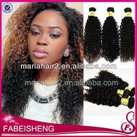 Hot sale! brazilian virgin hair fashion tight candy curl human weaving hair