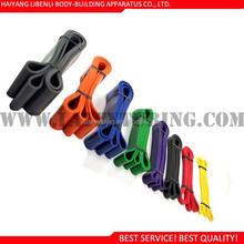 colorful crossfit loop band pull up band