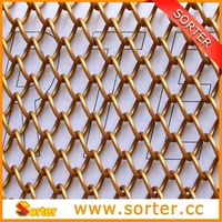 Magnesium Alloy Metal Wire Mesh Curtain By China Manufacturer