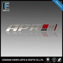 Custom Fashion 3D Adhesive Chrome Plating Car Logo Badge Emblems