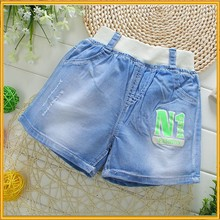 Latest Design Jean Pants Short Pants Kid Jean Denim Short Kids Jeans Pattern ZZJ-J-43