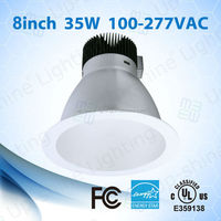 """Day light color UL ES listed 5 years warranty LM80 and LM79 report 35W ul 8"""" can light conversion kit"""