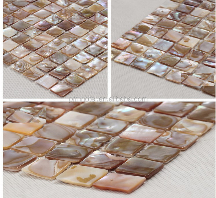 Oyster Shell Countertop Pearl Oyster Shell Mosaic