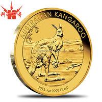 Custom Enamel Metal Tungsten Gold Coin for Souvenir