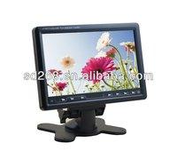 Best seller 7inch car lcd monitor mini TV good price!!!!