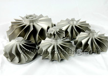 turbine wheel stainless steel cacuum casting for automobile