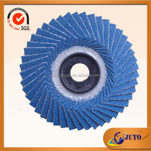 professional grinding and flap disc, metal abrasive flap disc