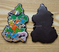soft PVC rubber colombia scenic design fridge magnets customized wholesales