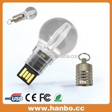 china sell fashion plastic bulb usb 8gb 2.0 high speed good quality 2014