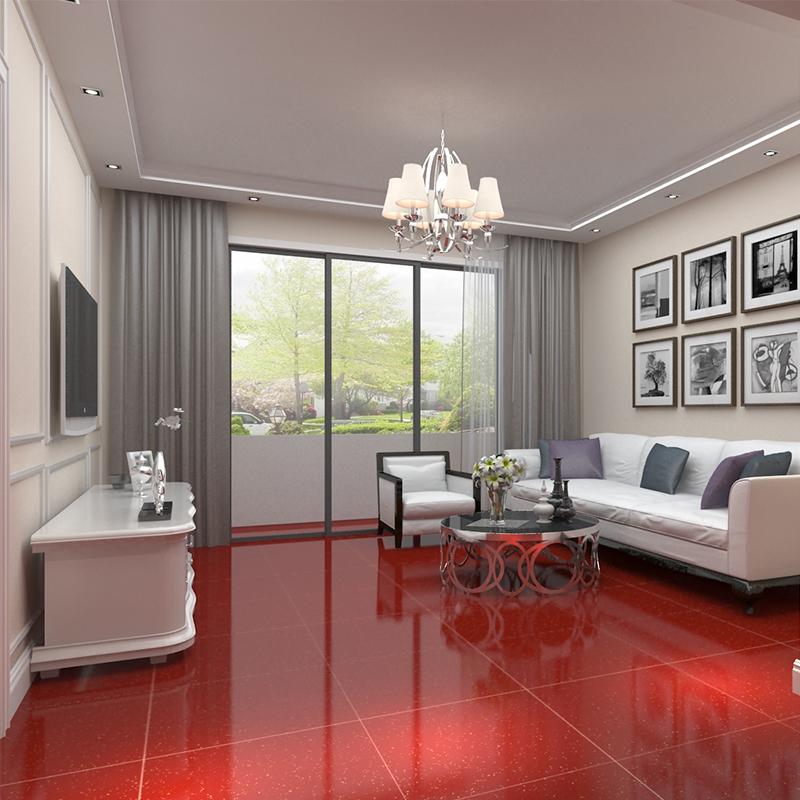 600600 800800 Vitrified Tiles Redpolished Salt And Pepper Floor