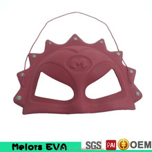 Melors eva foam party mask Attractive carton mask red color mask for party together