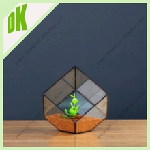 Ideal in any home or office setting, from period to contemporary. wholesale Clear Cube terrarium large geometric