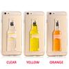 customized design TPU unique liquid phone case for Samsung/Iphone 5/6