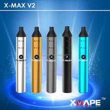 All In One Ceramic Chamber X-MAX V2 Dry Herb Vaporizer Pen