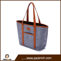 China Suppliers custom logo durable fashion handbags laminated tote bag