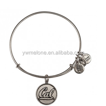Hot New Products For 2015 University Of California Berkeley Charm Bangle, Alex And Ani Antique Silver Bangle Bracelets