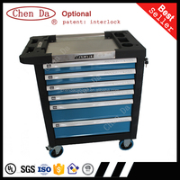 2015 new design frofessional tool cabinet with stainless top