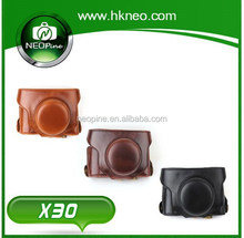 NEOpine Camera accessories fashion leather camera bag for Fujifilm X30 Camera NE-X30