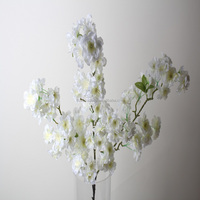 factory directly selling indoor decorative artificial cherry blossom branch wholesale