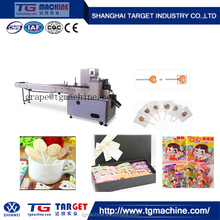 CE/ISO9001 Approved Four Side Seal Flat Lollipop Packing Machine