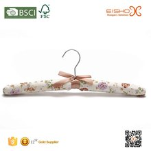 Eisho Anti Slip Beautiful Satin Padded Hanger