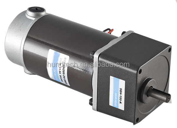 China Manufacturer High Torque Low Rpm 12v Small Electric