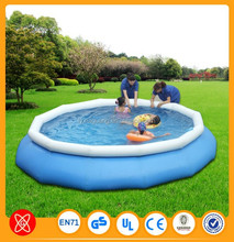 2015 new design 0.9mm pvc tarpaulin large inflatable pool swimming
