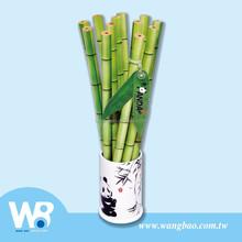 12 pc crayons avec mignon panda ensemble - cadeau de support