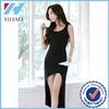 Custom korea fashion dress sleeveless ladies casual dresses garment manufacturer China