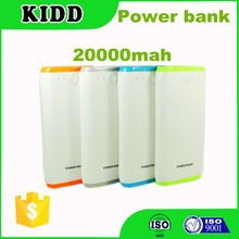 Thin Slim portable power bank charger 20000mah external Battery 20000 mah for mobile phone chargeing