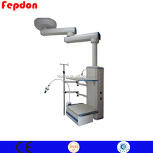 High quality hospital bed pendant double arm anuesthetic pendant operation anaesthetic pendant