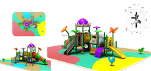 rectangle Restaurant friendly Approved children playground structure