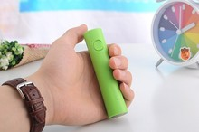 New electronic promotion gifts slim 2600mah with led light mini mobile slim power bank