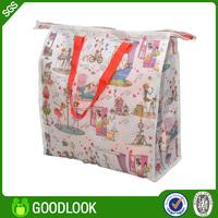 light foldable opp laminated non woven bags