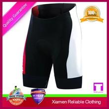 Custom good quality anti shrink modern breathable black mens fitness shorts