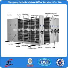 2015 Mobile shelving office furniture steel modular metal shelving filing mobile cabinet