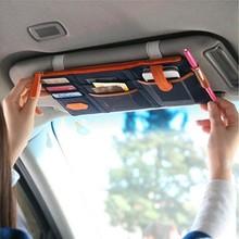 Multi-function car visor Vehicle receive hanging bag 2015