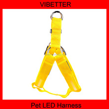 pets supplies S,M,L,XL size led dog harness