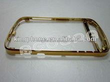 24ct gold plated bezel housing for blackberry Q10, for blackberry Q10 gold housing
