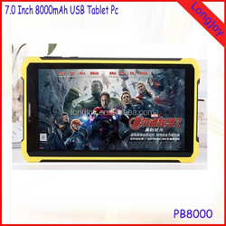 7 Inch City Call Android Phone Tablet Pc PB8000 MTK6572 Dual Core 1GB RAM 8GB ROM with Dual SIM 6500mAh Battery