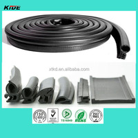 Rubber extruded pinchweld car door seal for cabinet door, car door, equipment door