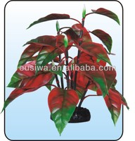 2014 beautiful and colourful artificial aquarium plants.ornamental plants with name