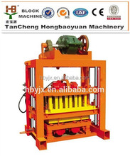 hollow QTJ4-40 machine cement brick making machine price, concret machine block to make money