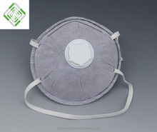 Medical 4-ply active carbon n95 face mask with valve