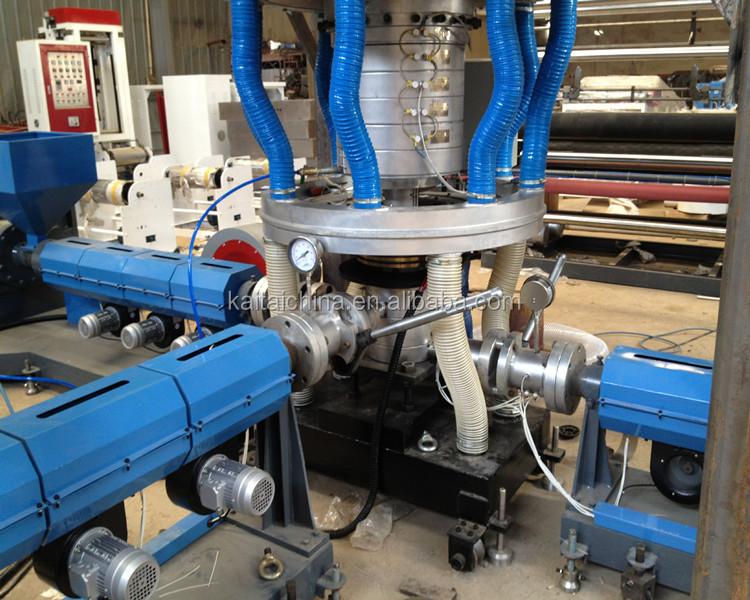 three layer film machinery