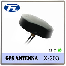 Low profile roof mount duad band Combined GPS GSM antenna