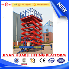 CE ISO Certificates Electric Warehouse Scissors Ladder