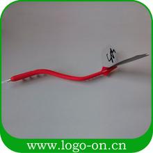 3d soft pvc bendable ball pen